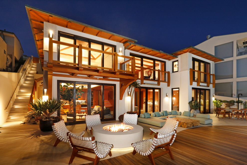 California Coastal Mid Century Modern Home Build In
