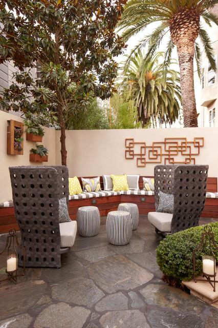 California St. Remodel contemporary-patio