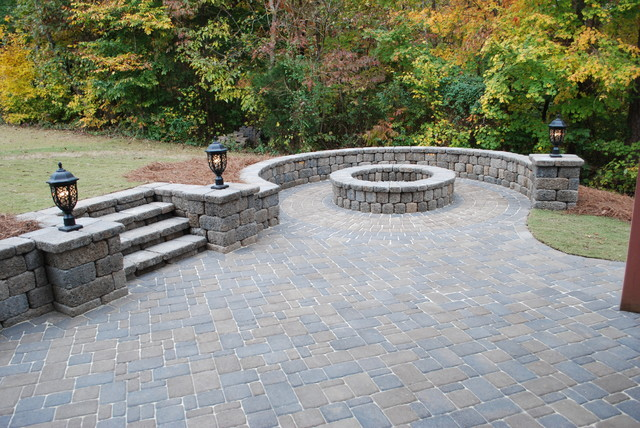 Cambridge Cobble Paver Country Manor Wall