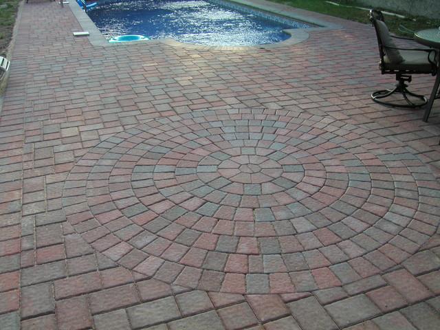 Cambridge Paving Stones Pool Deck West Islip N Y 11795