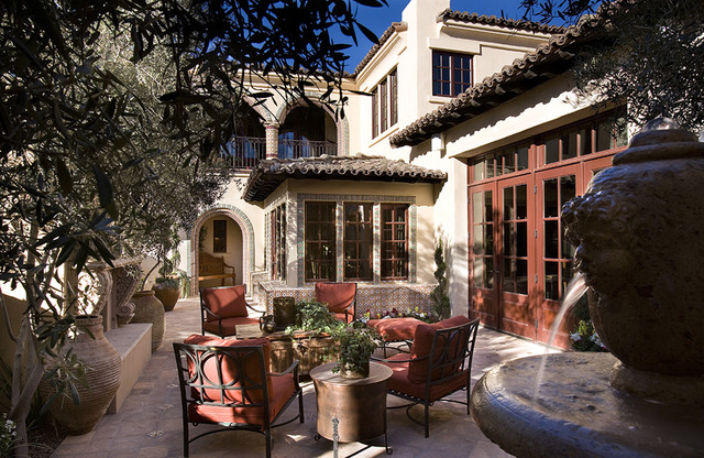 Camelback Mountain Villas mediterranean patio