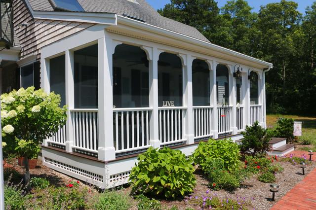 Cape cod personalized farmers porch for Farmers porch