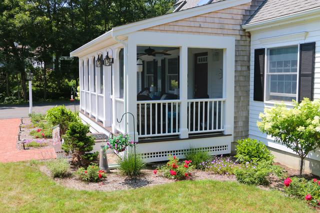 Cape cod personalized farmers porch for Farmers porch plans