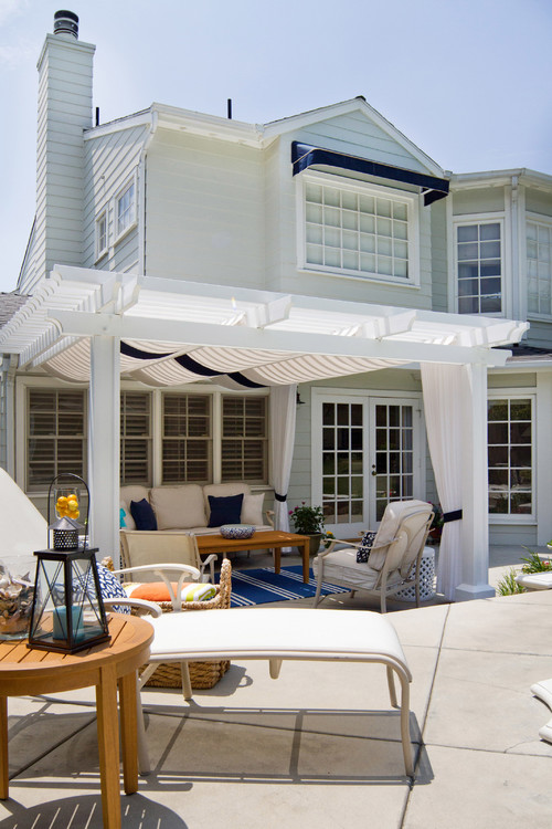 Lovely Cape Cod Style Patio