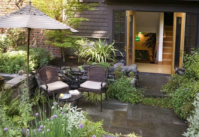 Capitol Hill Renovation Traditional Patio Seattle