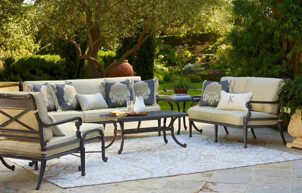Carlisle Slate Outdoor Furniture - Traditional - Patio - Other
