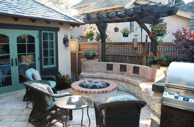 Carmel Cottage traditional-patio