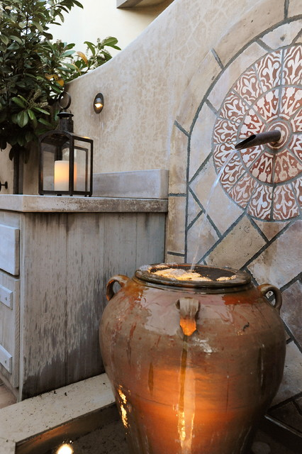 Carmel Stone Cottage Traditional Patio San Francisco