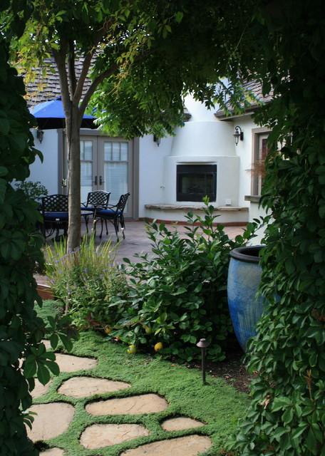 Carmel-Style Cottage mediterranean-patio