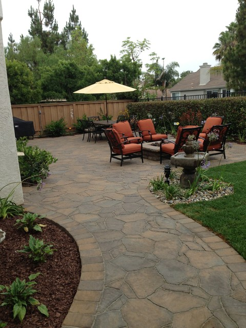 Carmel Valley Belgard Pavers Mega Arbel Patio