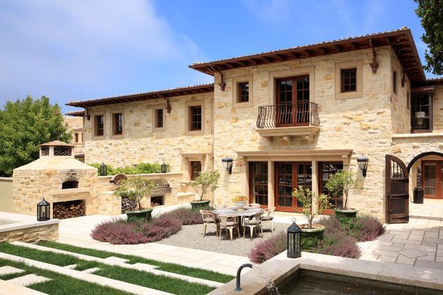 Carmel Valley Estate mediterranean-patio