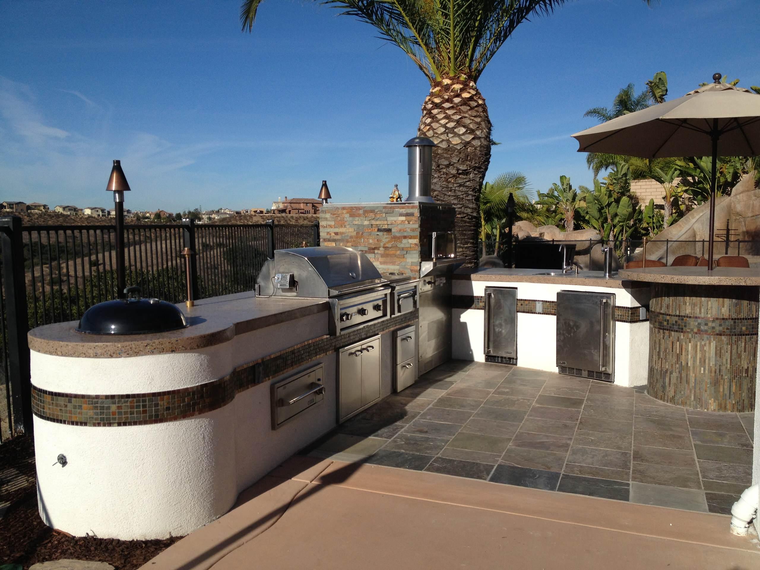 Carmel Valley Outdoor Kitchen