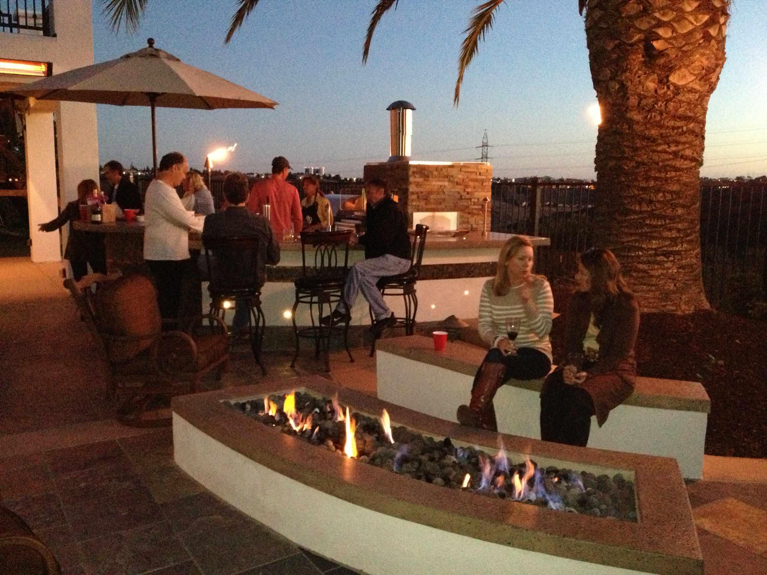 Carmel Valley Outdoor Kitchen & Fire Pit