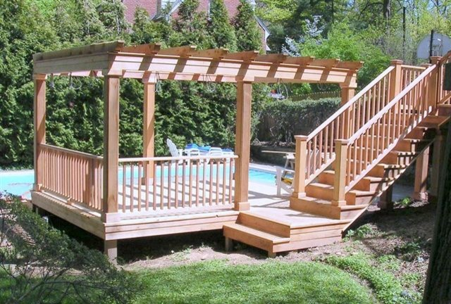 Carpentry and Ornamental traditional-patio