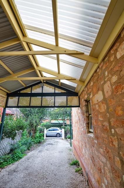 Carport Contemporary Patio Adelaide By Softwoods