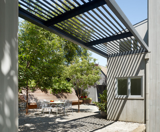 Cary Bernstein Architect Potrero House contemporary patio