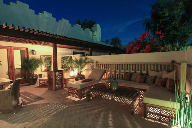 Casa Blanca eclectic-patio