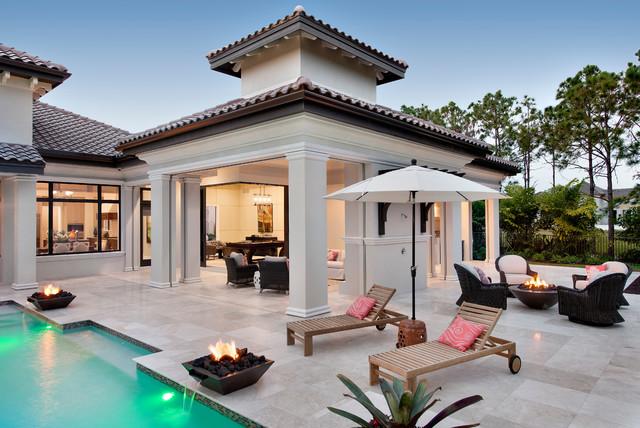 Casa Katrina In Quail West Mediterranean Patio Miami