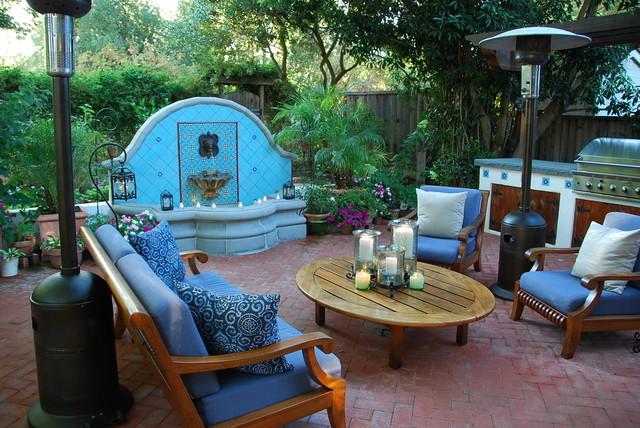 Casa Smith's California Garden mediterranean-patio