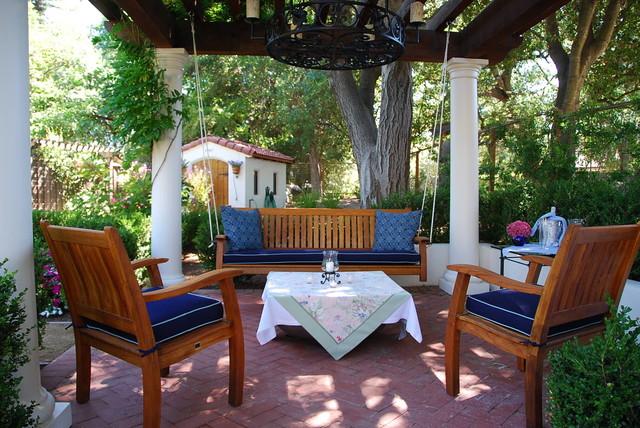 Mediterranean Backyard Designs casa smith's california garden - mediterranean - patio - san