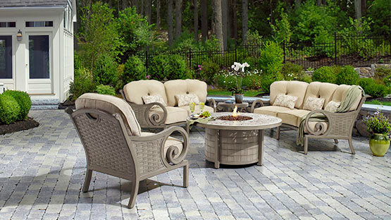 Castelle Outdoor Furniture Pride Family Brand Traditional Patio atlan