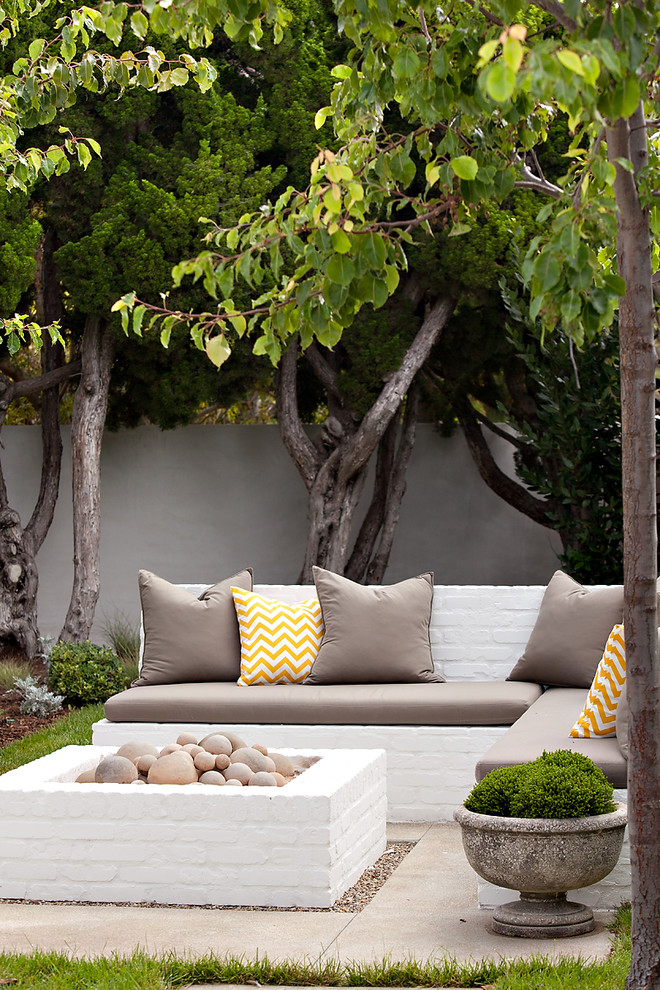 Example of a beach style patio design in Orange County