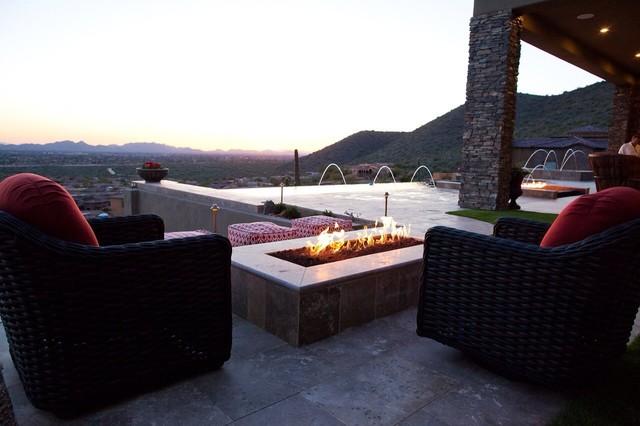 Outdoor space- patios contemporary-patio