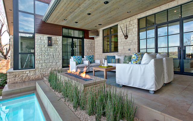 Cat Mountain Residence transitional-patio