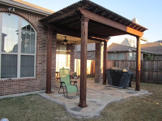 Cedar Beam Pergola Patio Dallas By Texas Best Fence