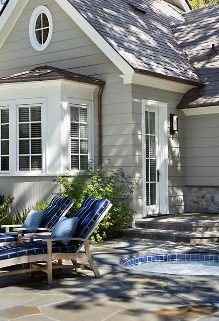 Cedar Lane contemporary-patio