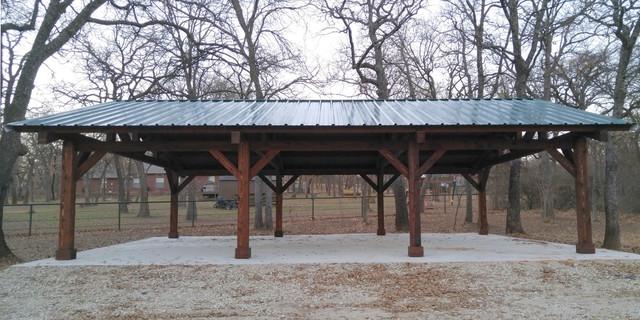 Cedar Pavilion In Pilot Point Texas