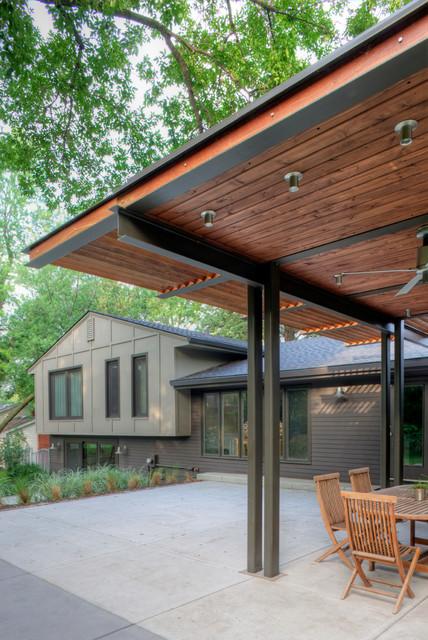 Cedar Street Remodel Contemporary Patio Omaha By