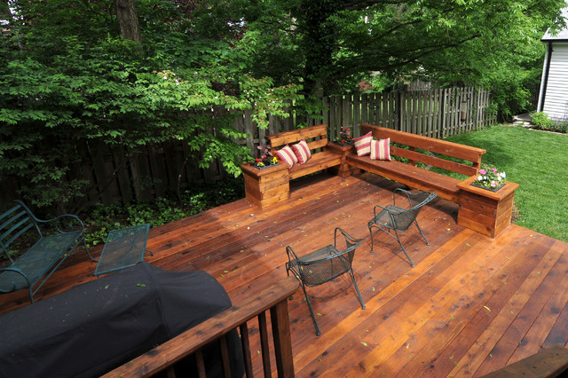 Central Deck Space - Traditional - Patio - st louis - by Riggs ...