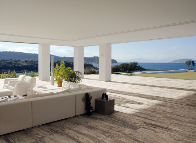 Ceramic U0026 Porcelain Tile Ideas Contemporary Patio