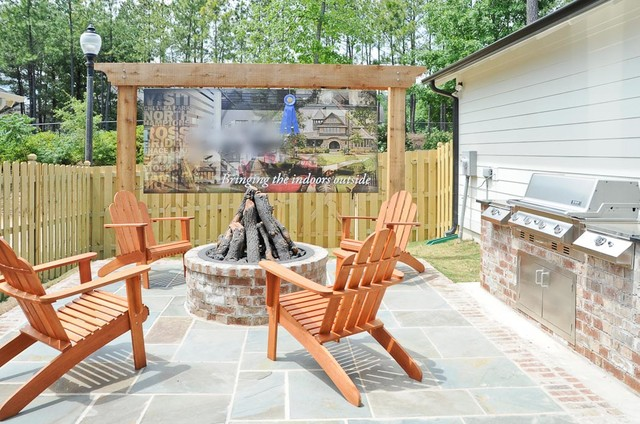 Chace Lake traditional-patio