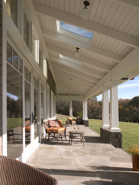 Chalk Hill Residence - A Moment Outside traditional-patio