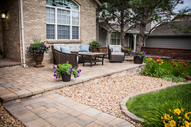 CHARMING ABODE - Traditional - Patio - Denver - by Elite ... on Elite Landscape And Outdoor Living id=52127