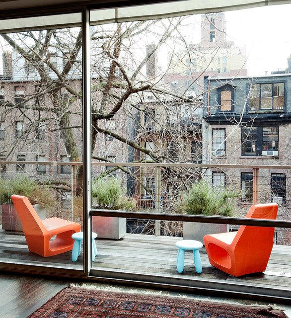 Chelsea Triplex Contemporary Patio New York By Tamara Hubinsky Interiors