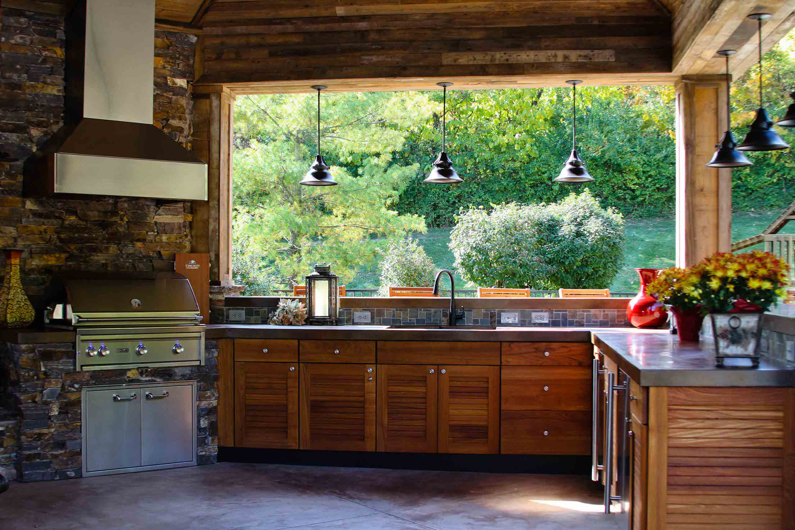 Outdoor Kitchen Lighting | Houzz