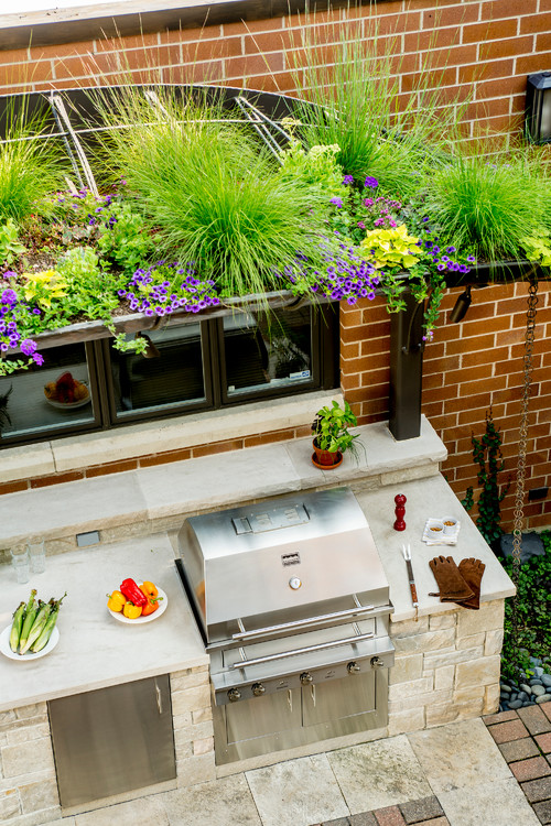 Chicago Outdoor Kitchen