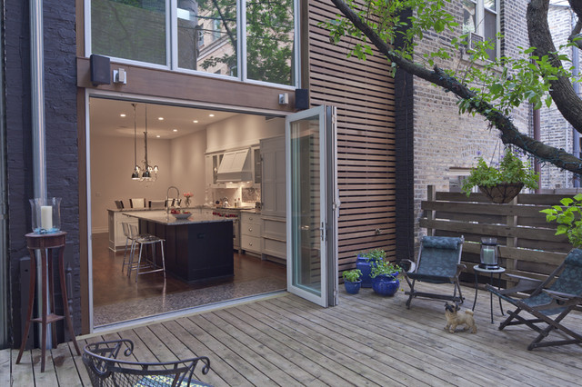 Chicago Residence Modern Patio Chicago By