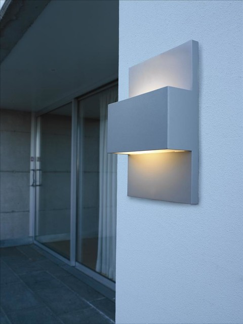 Exterior Wall Lights Modern : Neive Exterior Wall Light - Contemporary - Outdoor Wall Lights - london - by Christopher Wray