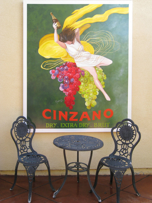 Cinzano Courtyard Mural