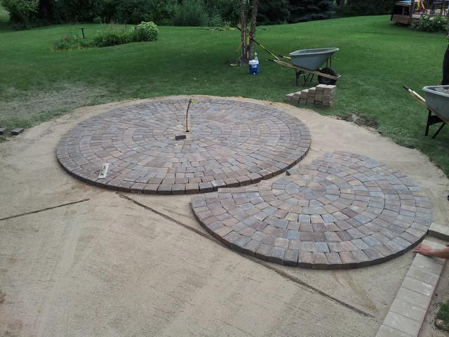 Circular Paver Patio