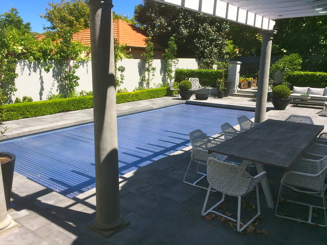 Claremont project - bluestone contemporary-courtyard