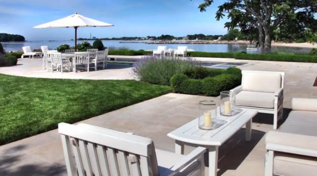 Classic Fairfield Home contemporary-patio
