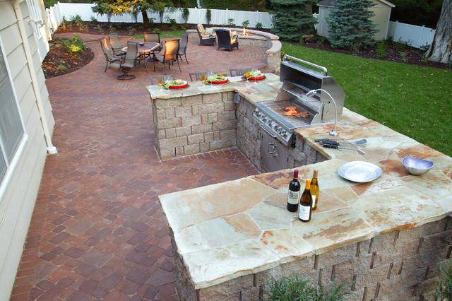 classic patio renovation traditional patio omaha