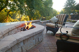 Classic patio renovation traditional patio omaha for Outdoor furniture omaha