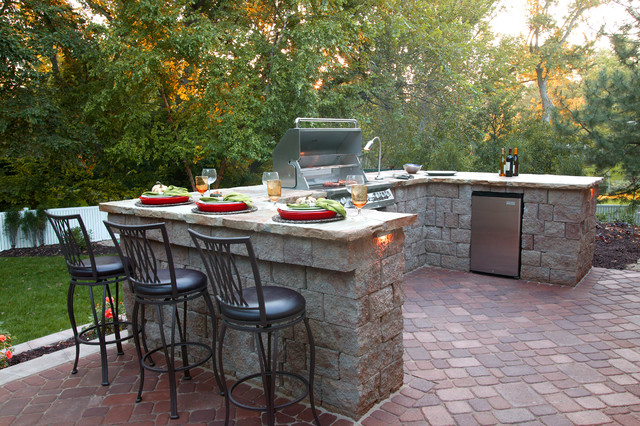 13 upgrades to make over your outdoor grill area for Terrace design with grills