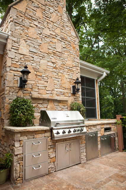 Clear Creek Blend. traditional-patio